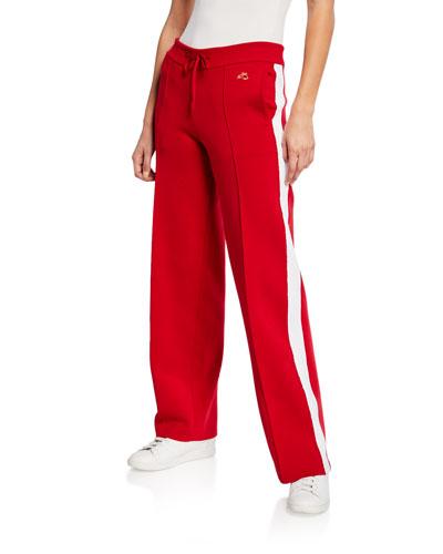Missy Straight-Leg Track Pants