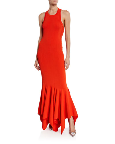 a0649637ef75 Quick Look. Solace London · Kotara Sleeveless Asymmetrical Cocktail Dress.  Available in Red