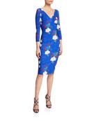 Chiara Boni La Petite Robe Naktis Floral-Print V-Neck