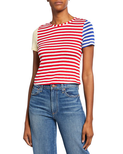 Alder Short-Sleeve Cropped T-Shirt