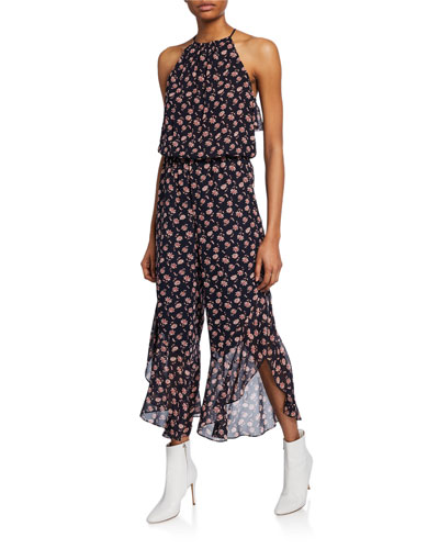 5a05ed4c242 Quick Look. Joie · Jael Silk Floral Jumpsuit. Available in Midnight