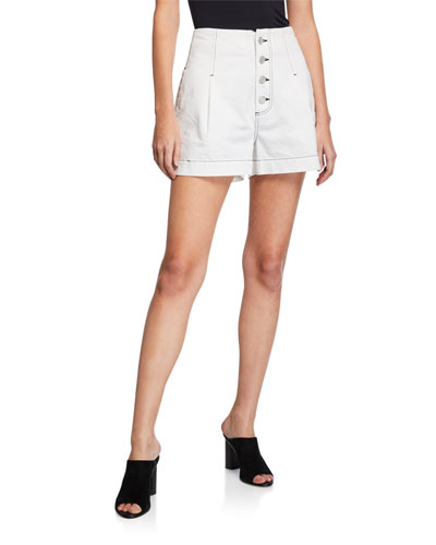 Tylar Button-Fly Shorts