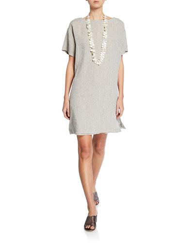 3e4333ca00 Linen Knee Length Dress