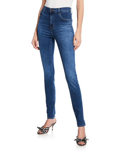 Carolina Super High-Rise Skinny Jeans