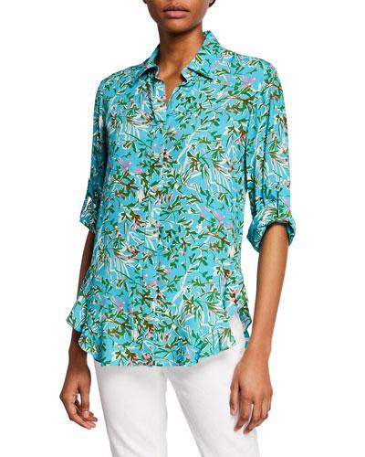 e1c72c41 Quick Look. Finley · Agetha Kyoto Floral-Print Button-Front Shirt