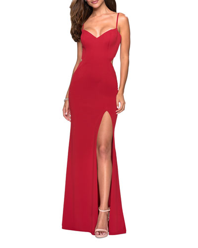 cd7d5f7c2d79 Red Evening Gown | Neiman Marcus