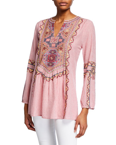 d5c491f00f2 Womens Embroidered Tunic   Neiman Marcus