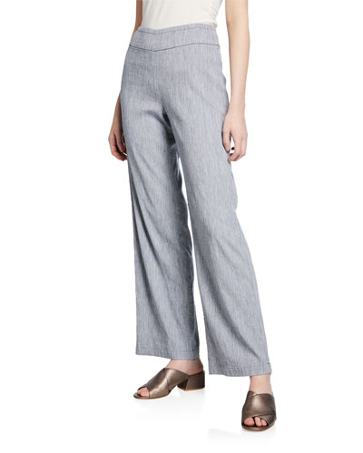 Petite Here or There Mid-Rise Pull-On Pants