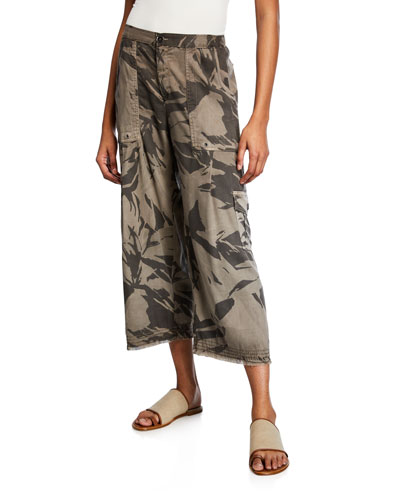 Plus Size Country Culottes w/ Fringe Hem