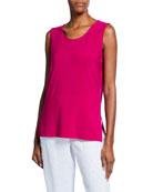 Caroline Rose Plus Size Sleeveless Long Stretch Knit