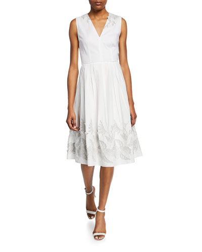 a7b21dad5137 Elie Tahari A-line Sleeveless Dress | Neiman Marcus