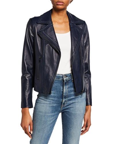 Angalie Leather Jacket