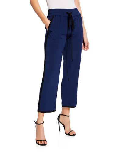 585c9cb310 Womens Silk Pants
