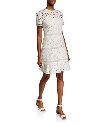 257a85020e Michael Kors Collection Cotton Dress