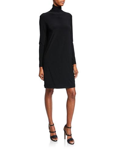 a32c54d0d245 Long Sleeves Turtleneck Dress   Neiman Marcus