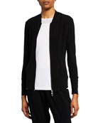 Anatomie Majeste Jersey Jacket with Binding Details