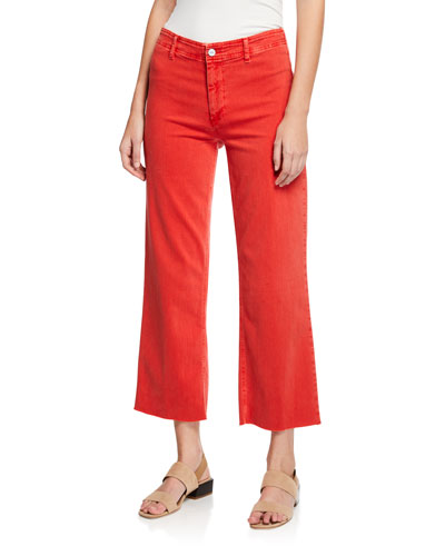 Nellie Clean-Front Culotte Pants