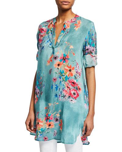 cedfcc49d1b Pullover Print Tunic   Neiman Marcus