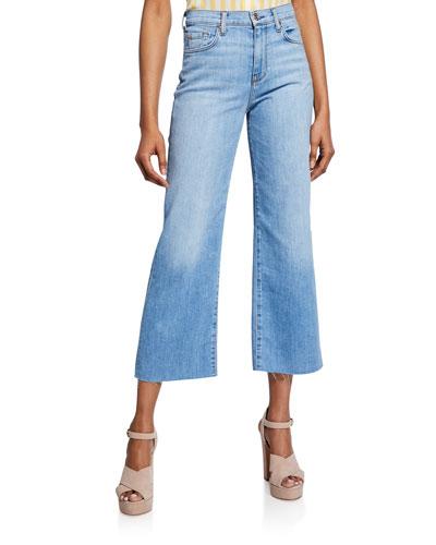 Cropped Alexa Wide-Leg Jeans