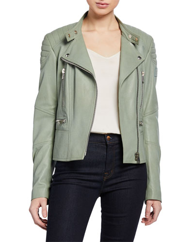 Sidney 3.0 Lamb Leather Moto Jacket