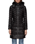 Mackage Lara Fitted Down-Fill Puffer Coat w/ Detachable