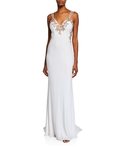 Imported Wedding Gown Neiman Marcus