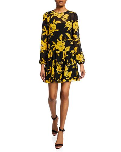 5f9b83068228 Dropped Waist Dress   Neiman Marcus