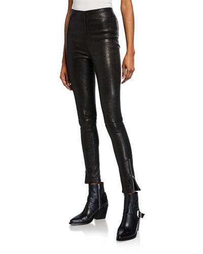 ea62729af4 Quick Look. Rag   Bone · Maya Skinny Leather Ankle Pants