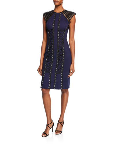 4bbb6dc0 Quick Look. Catherine Deane · Mya Tiered Cap-Sleeve Ponte Dress ...