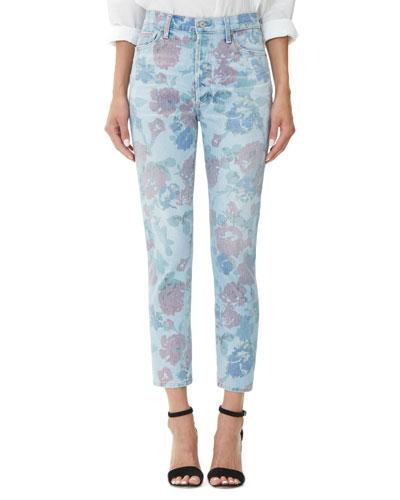 Olivia Crop High-Rise Slim Jeans