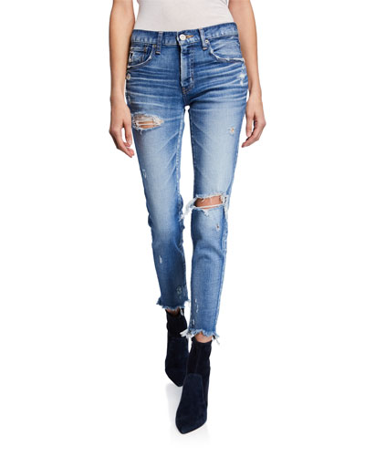 Ridgewood Distressed Skinny Jeans