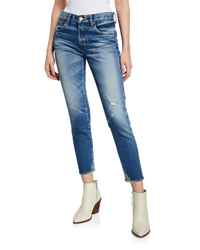 Velma Mid-Rise Cropped Skinny Jeans