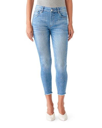 Florence Crop Mid-Rise Instasculpt Skinny Jeans