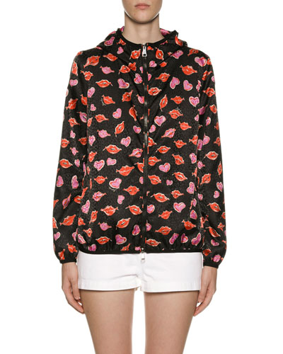 Vive Lip & Heart Raincoat