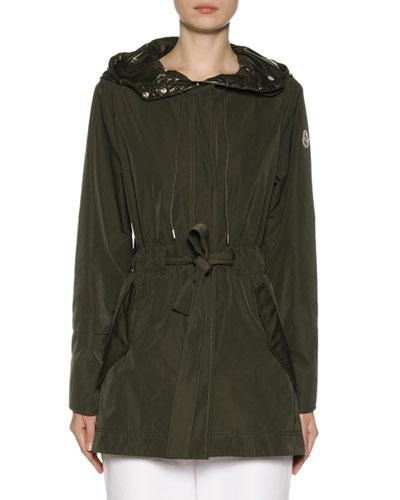 Mascate Semi-Fit Jacket w/ Contrast Hood