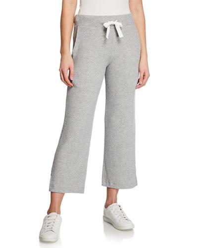 Wide-Leg Rib Lounge Pants
