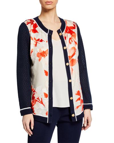 092724506629 Hip Length Knit Sweater | Neiman Marcus