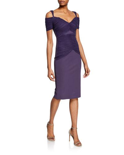 17be49e1a14 Cold Shoulder Dress