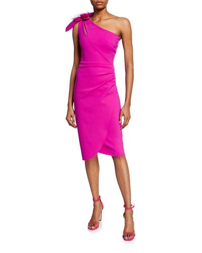 23495bd29e46 Pink Petite Cocktail Dress