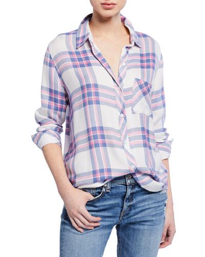 11d07c1c6c4 Quick Look. Rails · Hunter Plaid Button-Down Shirt