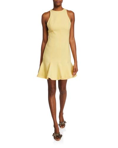 Culpo Sleeveless Flounce Dress