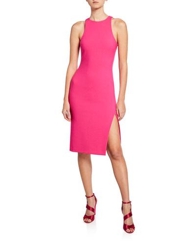 Decklin Sleeveless Bodycon Dress with Slit