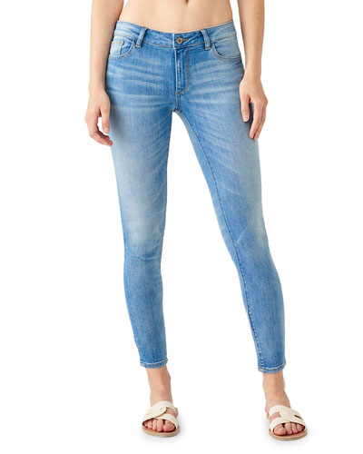 Emma Low-Rise Skinny Jeans