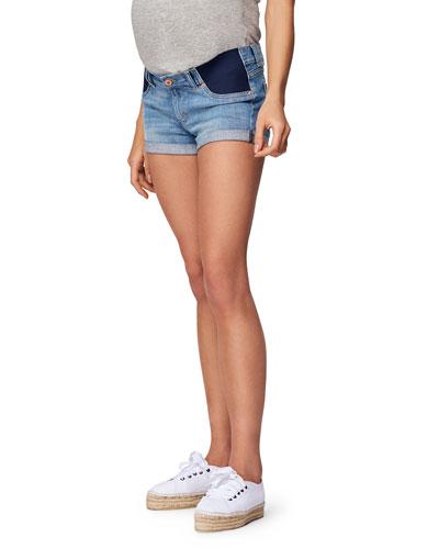 Renee Cuffed Maternity Shorts