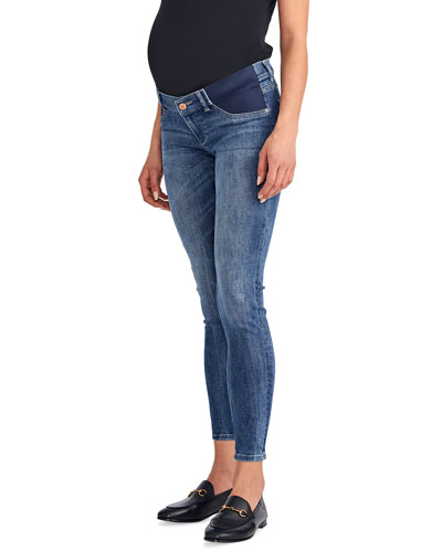 Florence Mid-Rise Skinny Maternity Jeans