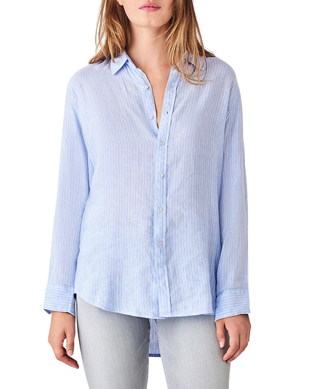 Nassau & Manhattan Striped Button-Down Shirt