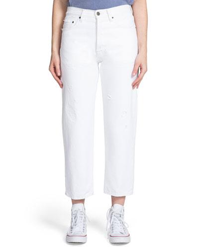 C10 Relaxed Crop Boyfriend Jeans