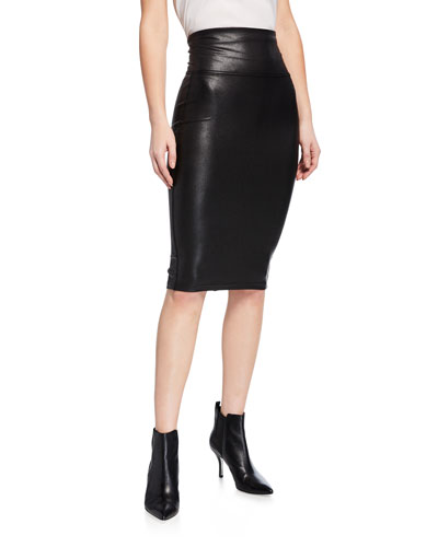 cbec9f12013ef1 Quick Look. Spanx · Faux-Leather Pencil Skirt