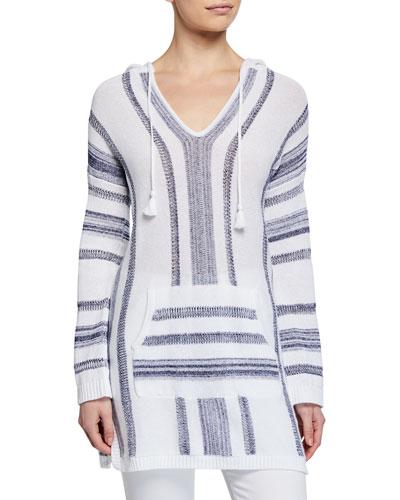 e8d26c05ba36 Quick Look. Tommy Bahama · Baja Striped V-Neck Hooded Sweater