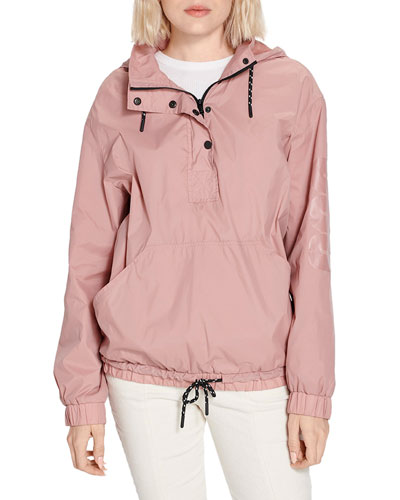 Cameron Water-Resistant Anorak Jacket w/ Hood